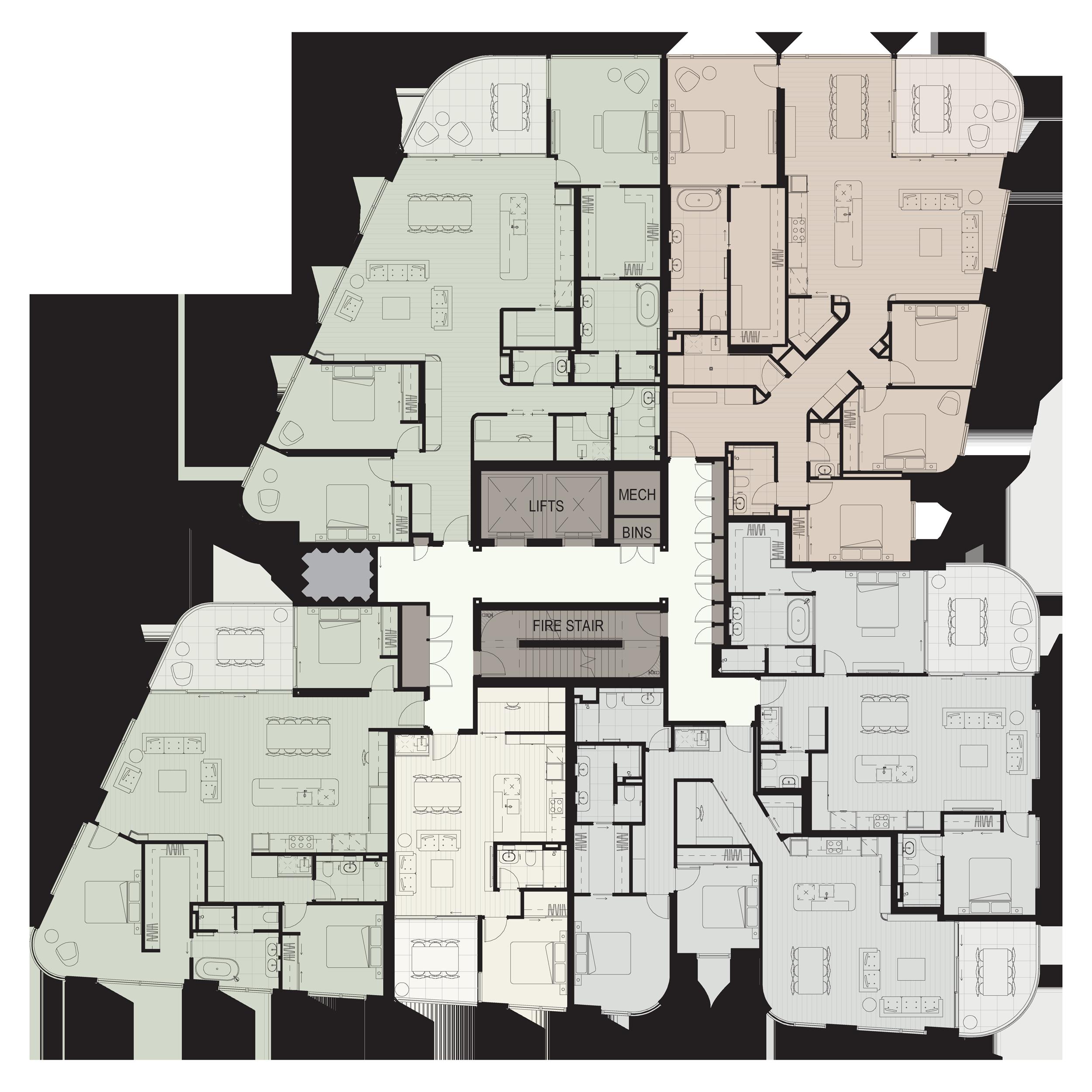 floorplate